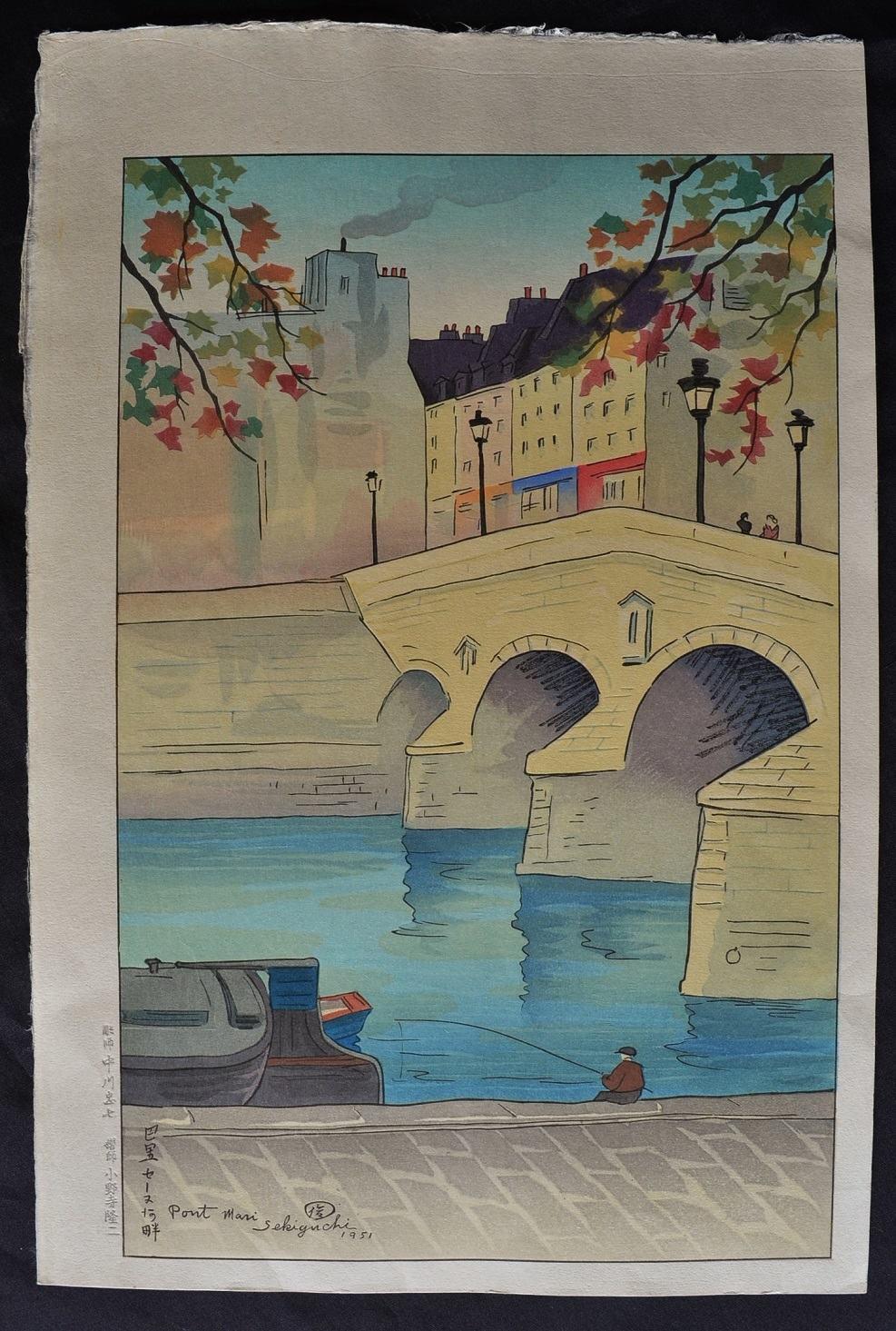 SHUNGO SEKIGUCHI: #P4371 PONT MARI, PARIS