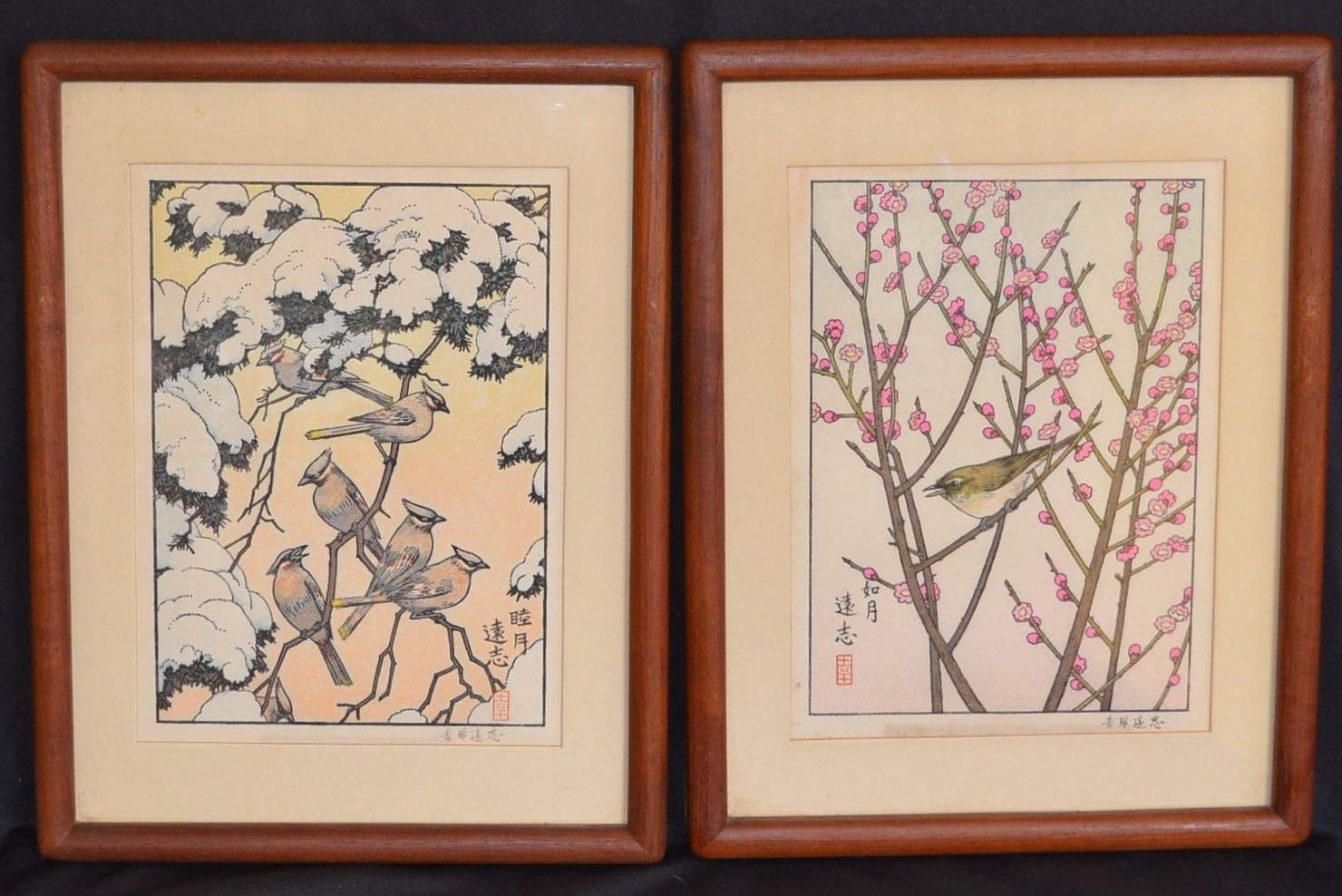TOSHI YOSHIDA: THE FLOWERS AND BIRDS OF THE ORIENTAL YEAR - January / February
