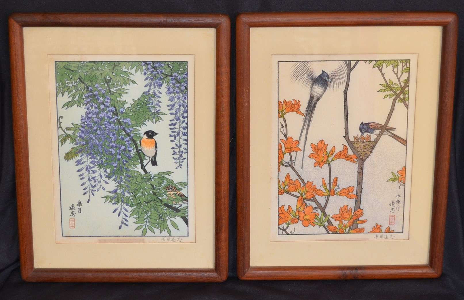 TOSHI YOSHIDA: THE FLOWERS AND BIRDS OF THE ORIENTAL YEAR - May / June