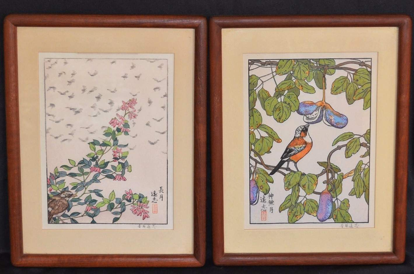 TOSHI YOSHIDA: THE FLOWERS AND BIRDS OF THE ORIENTAL YEAR - September / October