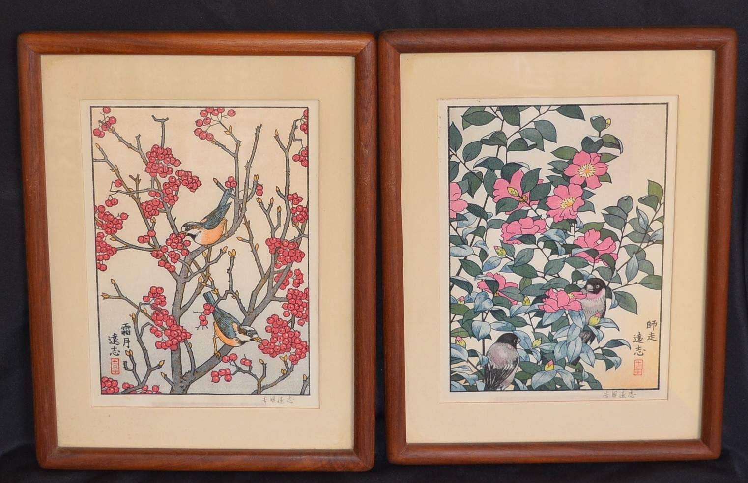 TOSHI YOSHIDA: THE FLOWERS AND BIRDS OF THE ORIENTAL YEAR - November / December