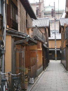 Alleyway in Gion