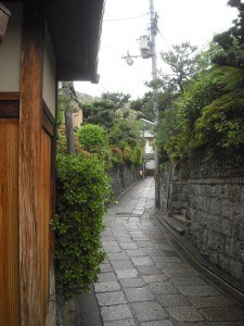 Laneway in Gion