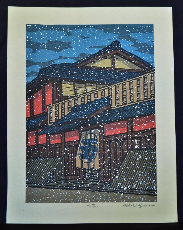Katsuyuki Nishijima: #P3614 RIKKA - SNOWY DAY
