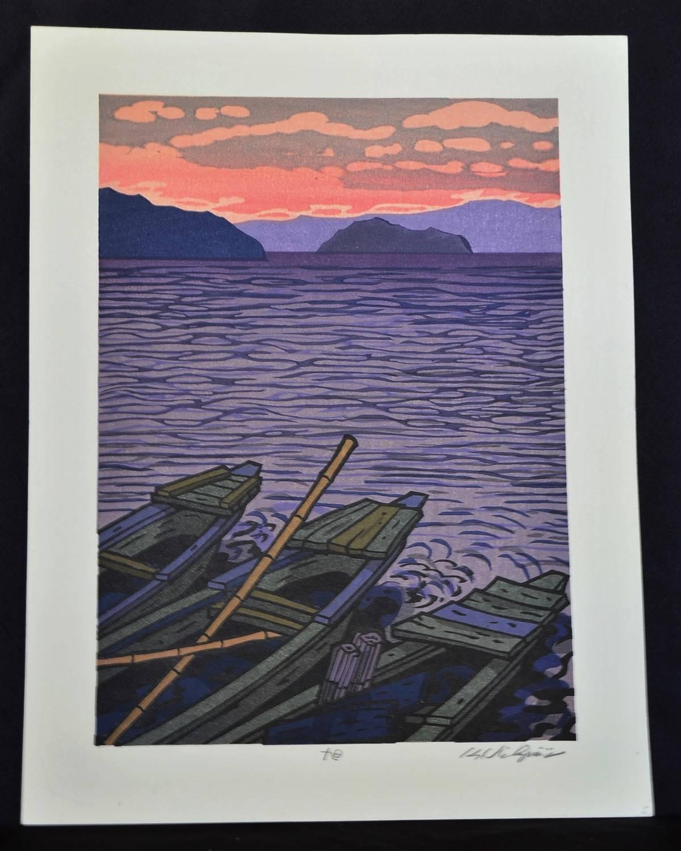 Katsuyuki Nishijima: #P3991 ASAHI - THE MORNING SUN