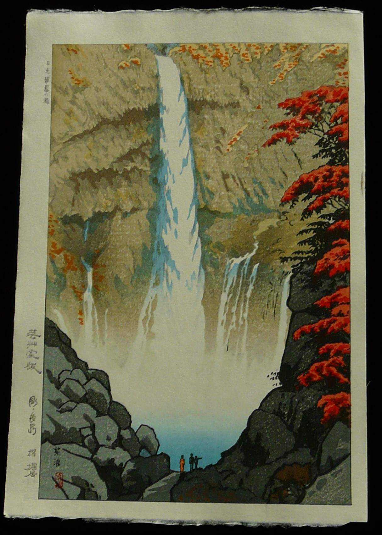 SHIRO KASAMATSU: #P3221 KEGON FALLS AT NIKKO
