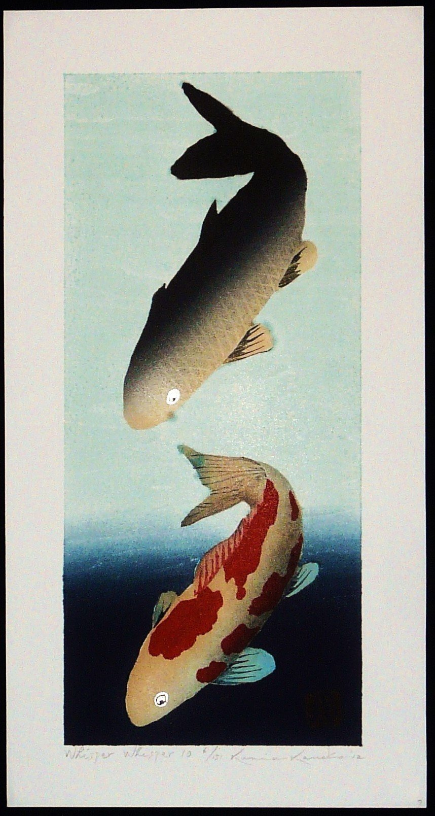 Kunio Kaneko: #P3927 WHISPER WHISPER 10