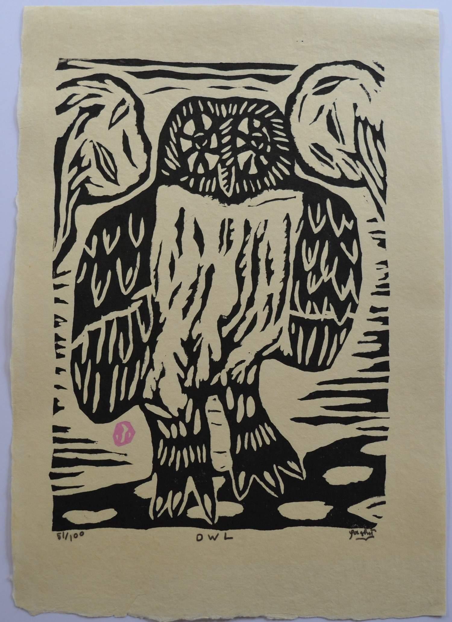 Gashu Fukami: Owl