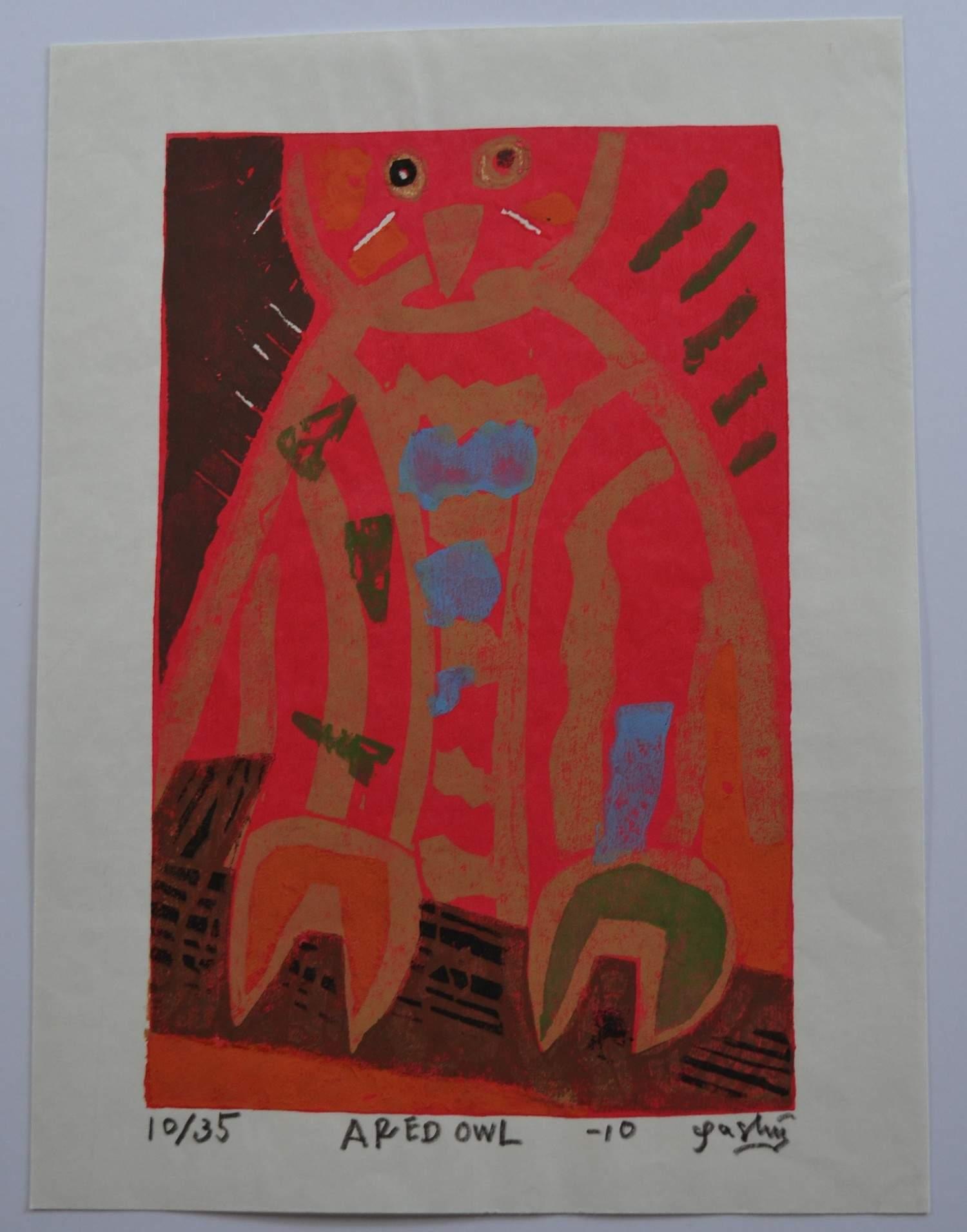 Gashu Fukami: Red Owl