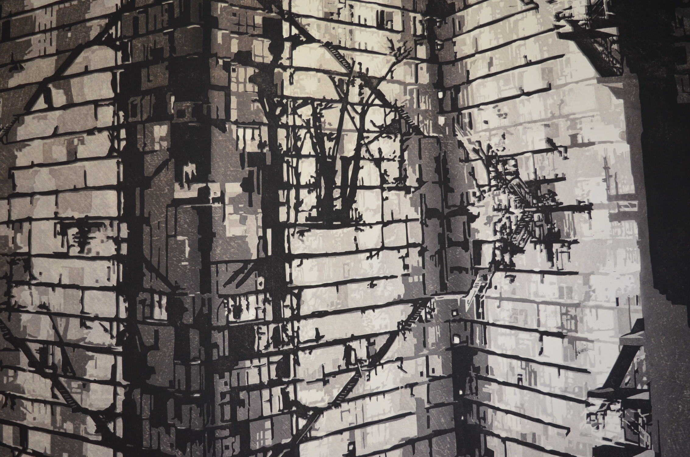 NARUMI KATSURAGAWA: #P4619 OVER AGAIN (detail)