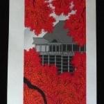 TERUHIDE KATO: #P3060 AUTUMN SUN AT KIYOMIZU