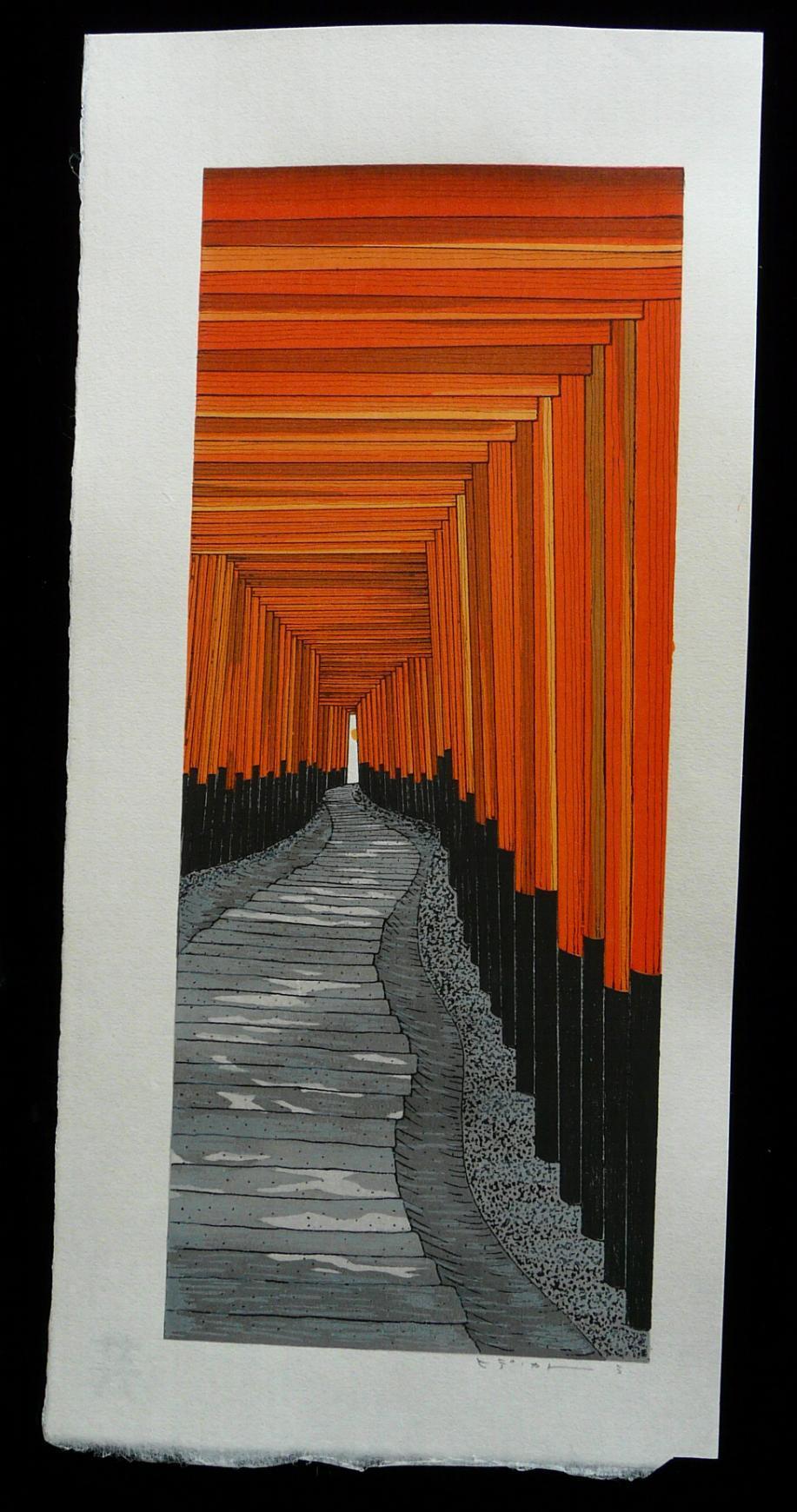 TERUHIDE KATO: #P4211 FUSHIMI INARI SHRINE IN KYOTO