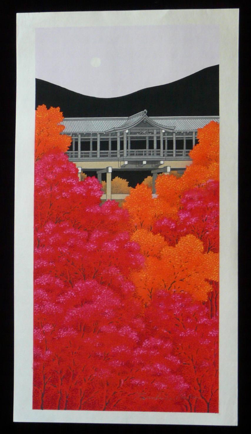 TERUHIDE KATO: #P3727 SPRING AT KIYOMIZU TEMPLE