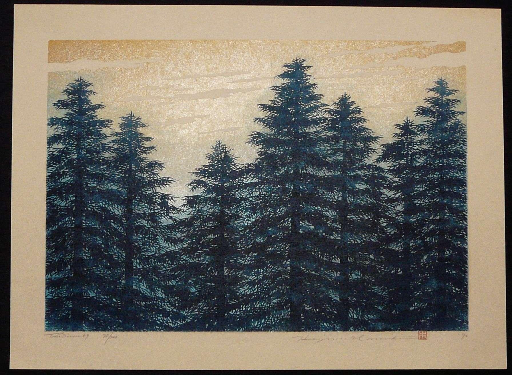 HAJIME NAMIKI: #P3389 TREE SCENE 59
