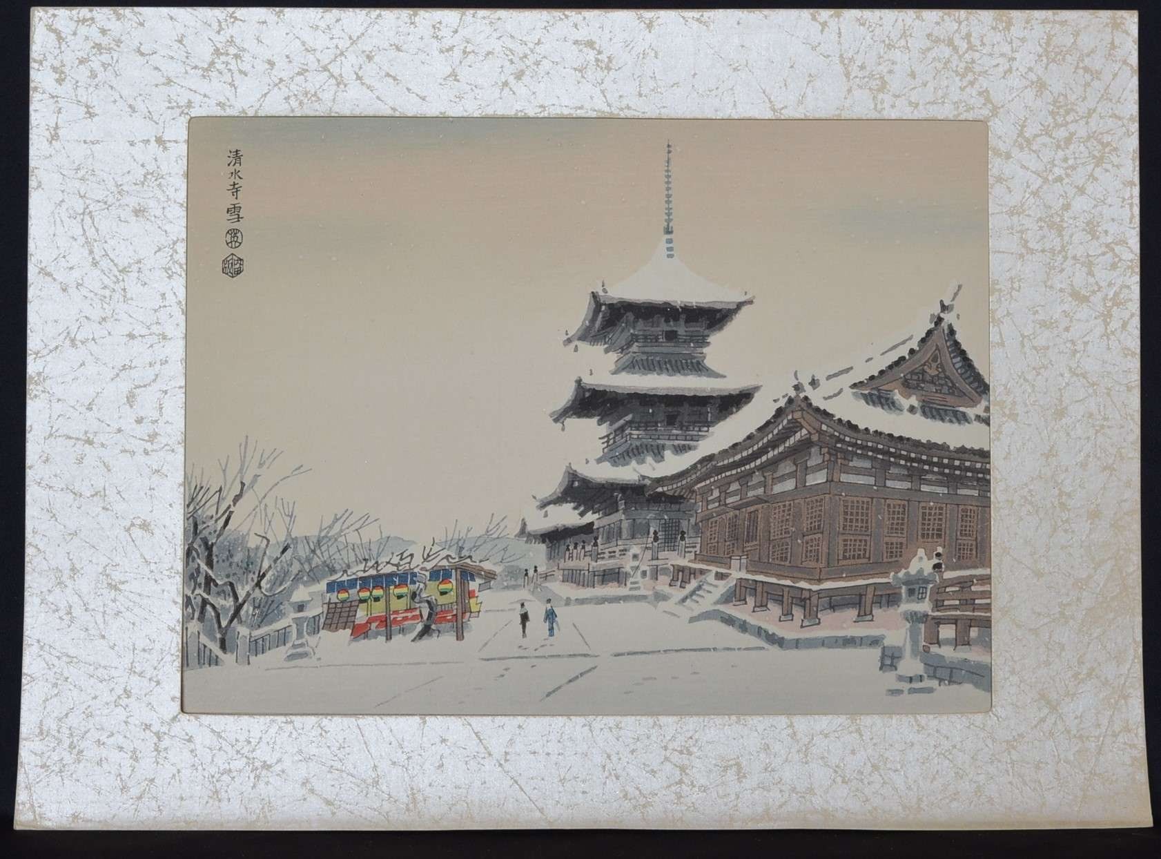 6. THE SNOW SCENE OF KIYOMISU TEMPLE IN KYOTO