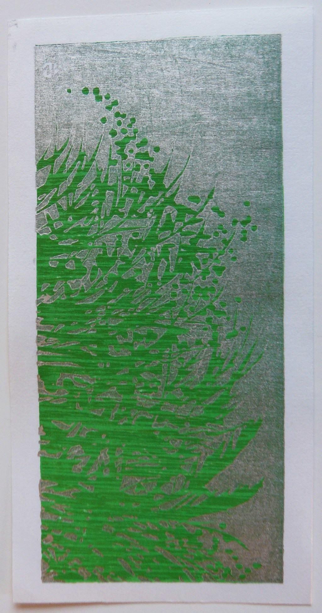SANO TAKAO: #P4163 GREEN TREE