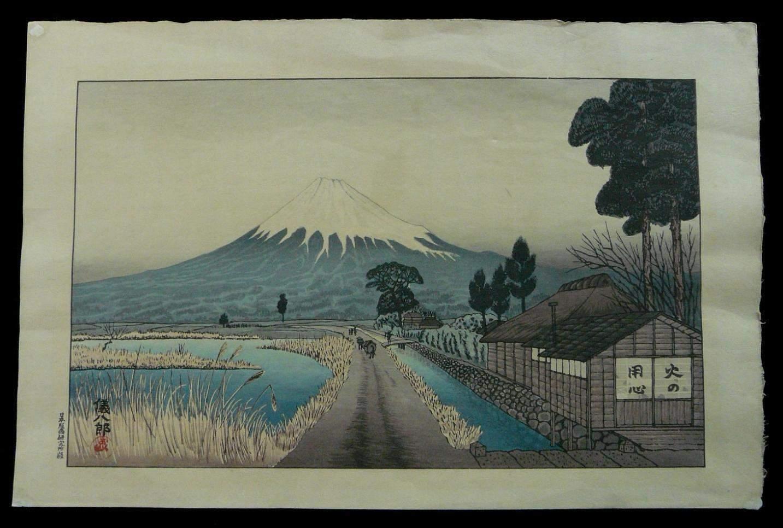 GIHACHIRO OKUYAMA: #P2359 MOUNT FUJI